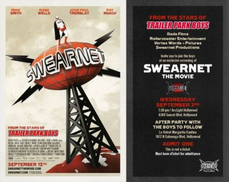 """Swearnet"" USA Premiere at ArcLight Hollywood Wed Sep 3 2014 at 7:30 pm"